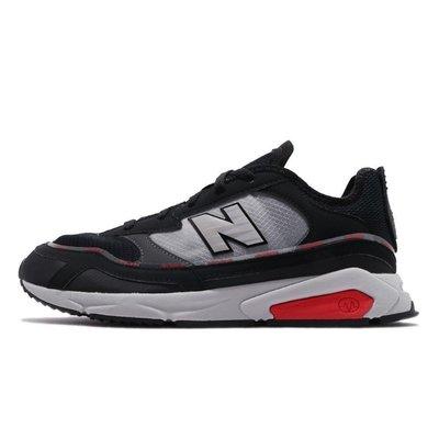 =E.P=NEW BALANCE X-RACER 黑灰 復古慢跑 麂皮 網布 拼接 老爹 男鞋 MSXRCHTW