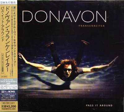 八八 - Donavon Frankenreiter - Pass It Around - 日版 CD+2BONUS
