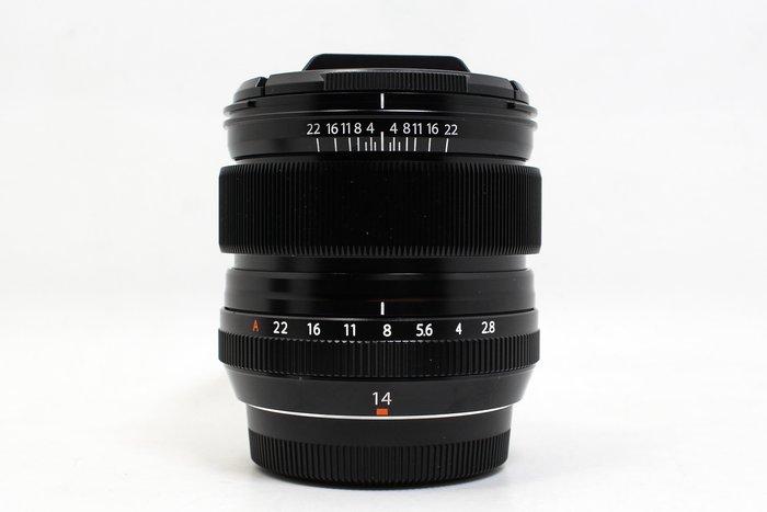 【高雄青蘋果3C】FUJIFILM XF 14mm F2.8R 超廣角 定焦鏡 公司貨 二手鏡頭 #21522