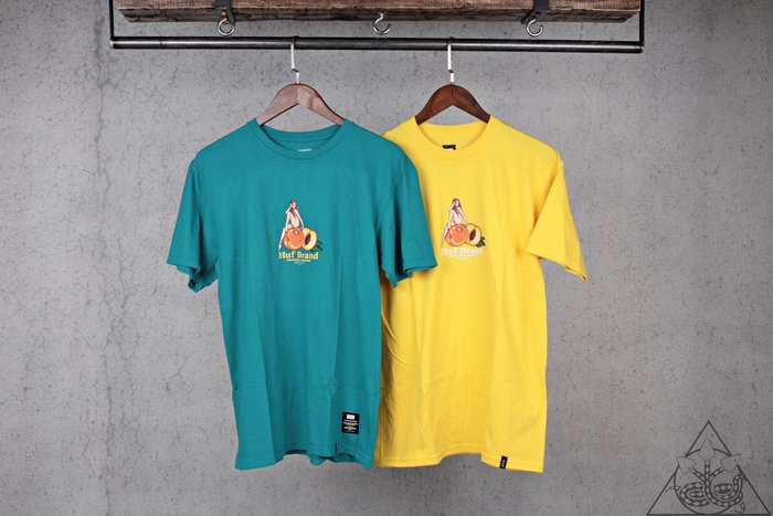【HYDRA】HUF Forbidden Fruit T-Shirt 水果 短T【TS00756】