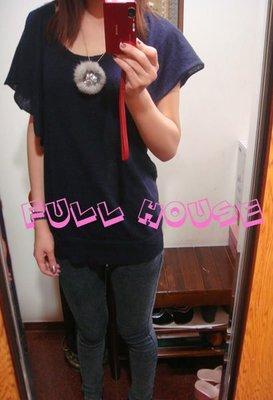 【FULL HOUSE 】日本超人氣名媛最愛小毛球毛毛水鑽項鍊~超可愛好搭