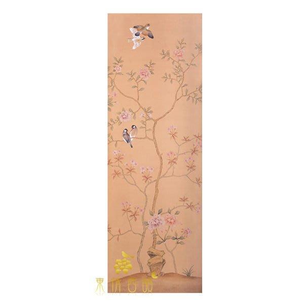 【芮洛蔓 La Romance】手繪絲綢壁紙 ZW01-004 / 畫飾 / 壁飾 / 牆紙