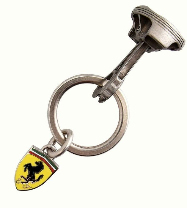 ☆正☆ Scuderia Ferrari F1 2004 世界冠軍 舒馬克 坐駕 連桿 活塞 造型 鑰匙圈 真品 官方發行 限量珍藏 ☆附法拉利 原廠保證書☆