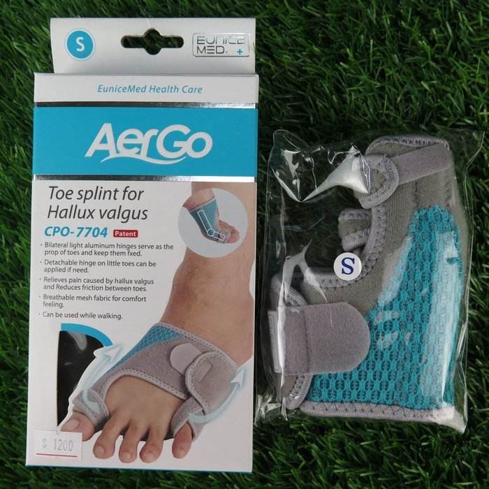 【iSport愛運動】♤   運動防護 ♤ 拇趾外翻 矯正護套 CPO7704 兩種尺寸