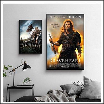 日本製畫布 電影海報 梅爾吉勃遜之英雄本色 Braveheart 掛畫 無框畫 @Movie PoP 賣場多款海報#