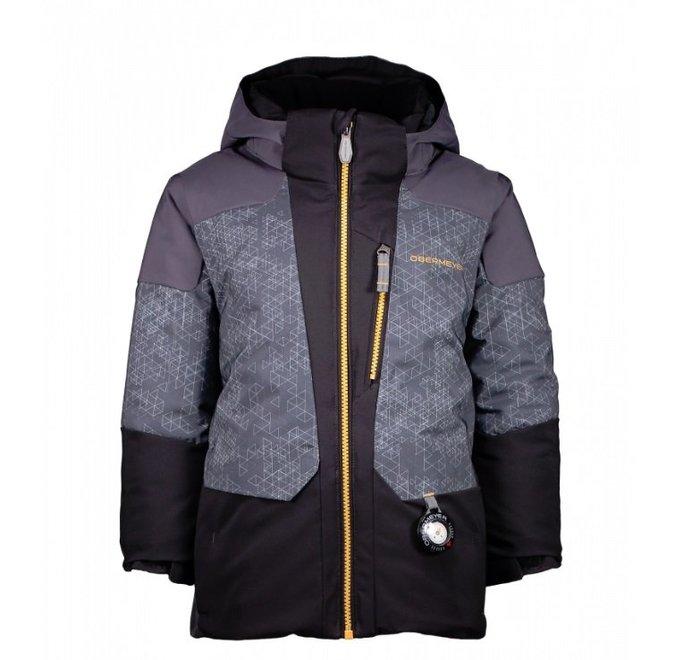 【荳荳物語】美國品牌obermeyer Influx Jacket舖棉保暖男童滑雪衣,防水係數15k,3980元
