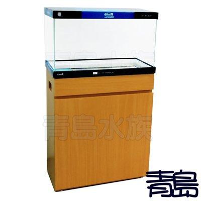 BK。。青島水族。。台灣精品-類ADA精緻型貼皮架==YiDing超白缸60*30*45+70H木架/2尺(多色可選)