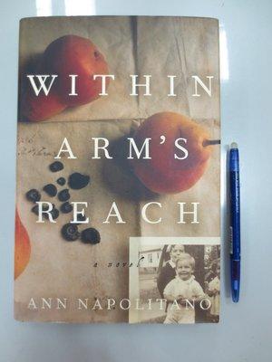 D2-4cd☆2004年『Within Arm's Reach:A Novel』Napolitano~精裝~