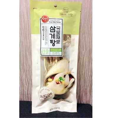 【38日韓】韓國 蔘雞湯材料包 70g