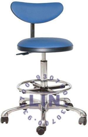 【品特優家具倉儲】R909-16吧台椅可愛電鍍五爪活動輪吧椅櫃檯椅