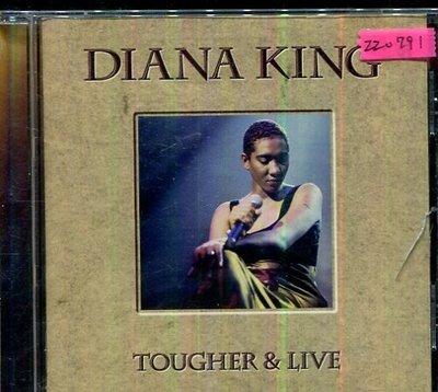 *還有唱片三館* DIANA KING / TOUGHER & LIVE 二手 ZZ0791