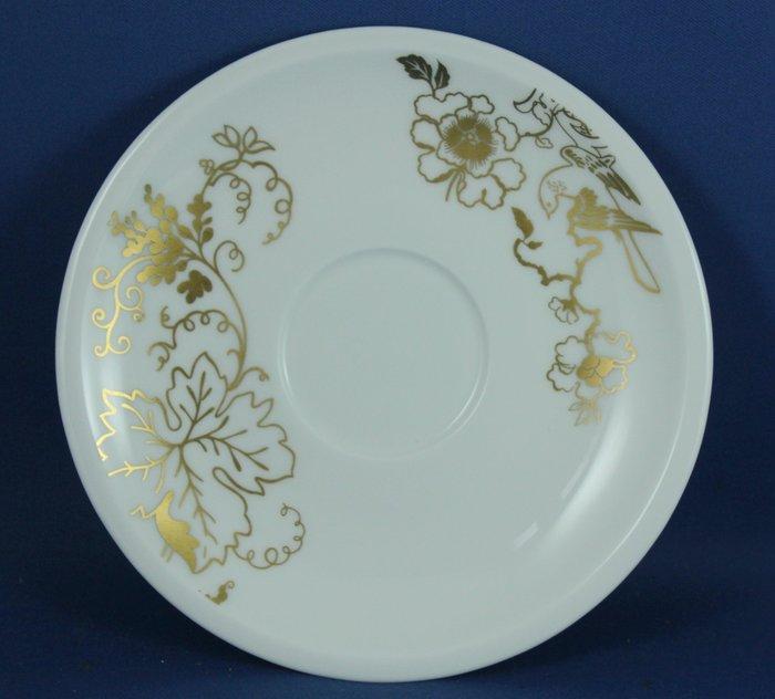 [美]英國百年名瓷 WEDGWOOD 落單底盤可當點心盤用 - PLATO GOLD系列 ,全新品