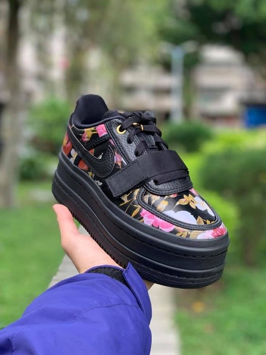 Nike W Vandal 2K Floral 花卉 增高 厚底鞋 女鞋 AQ7892-001