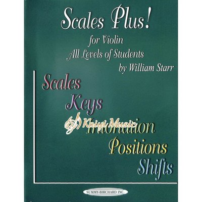 Kaiyi Music ♫Kaiyi Music♫Scales plus for violin all levels of students