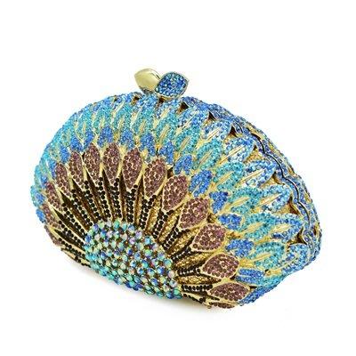 晚宴 包 鑲鑽手拿包-時尚精美亮眼精緻女包包73su20[獨家進口][米蘭精品]