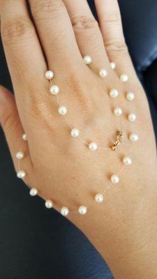 小資女好選擇 14K扣 天然珍珠項鍊