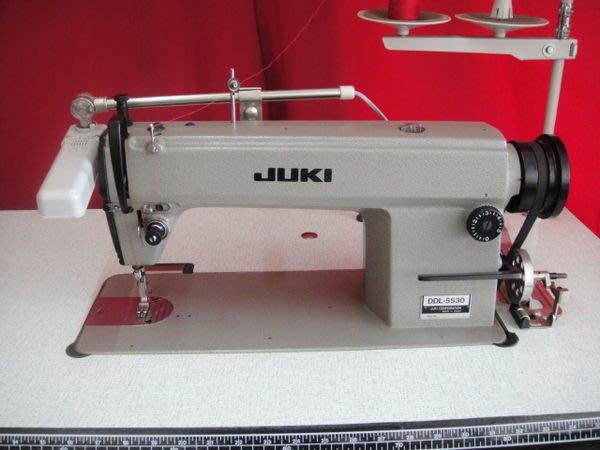 工業縫紉機,重機牌JUKI平車、型號5530(二手)含電燈、上市澳! **嘉匯針車有限公司** 003