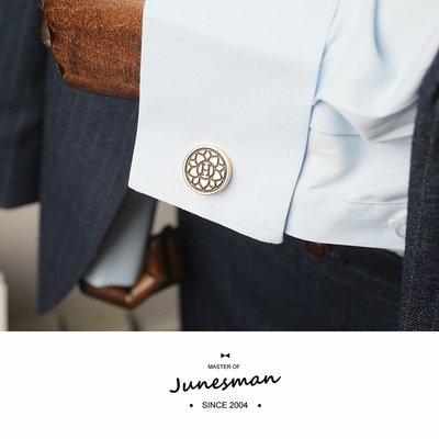 新國貨 法式襯衫袖扣男袖釘袖口扣新郎主持司儀商務/HEMS