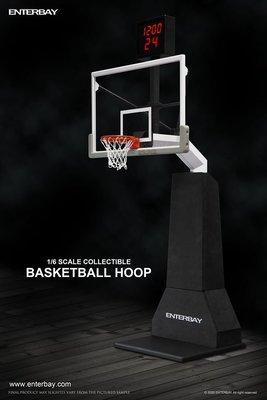 《瘋樂模玩》預購20年第四季 ENTERBAY : 1/6 NBA 籃球架 再版 訂金1500尾款6000 人氣商品