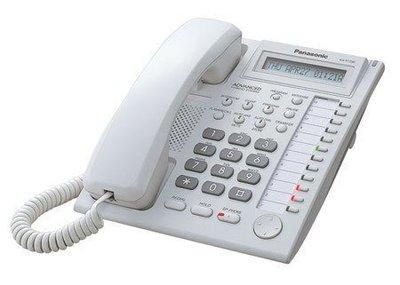 電話總機專業網...國際牌TES-824主機+12鍵來電顯示型話機7台...全新完善的保固