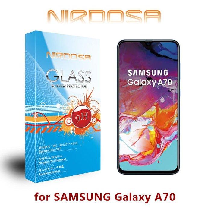 【愛瘋潮】NIRDOSA SAMSUNG Galaxy A70 9H 0.26mm 鋼化玻璃 螢幕保護貼