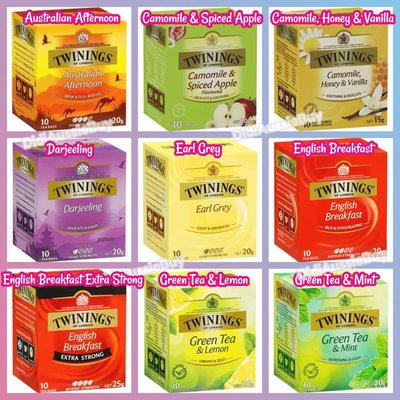英國川寧茶包 Twinings of London Herbal Tea Bag 10pk 50pk 100pk