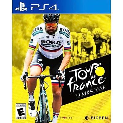 【全新未拆】PS4 專業自行車隊經理 環法賽2019 LE TOUR DE FRANCE 2019 英文版 公路車腳踏車
