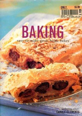 【語宸書店C326/西文書】《Baking: Easy to Make Great Home Bakes 》ISBN:1843090058│Carole Clements
