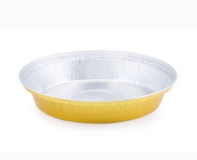 *愛焙烘焙* 波士頓派 甜塔 帶蓋 鋁箔 金色款 10入 水果布丁 蛋糕烤模 鋁箔烤模 水果派