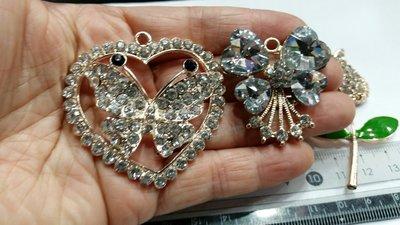 (材料王批發)珠寶捧花材料---水鑽珠...