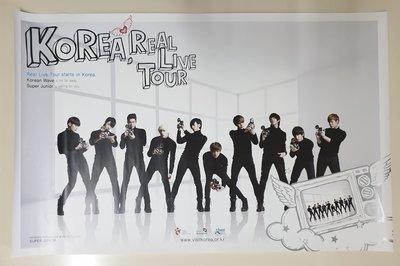 Super Junior 海報 A-Cha 韓國觀光公社|厲旭 東海 始源 銀赫 藝聲 利特 圭賢 希澈 晟敏 神童