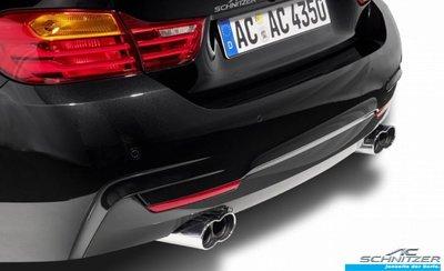 【樂駒】AC Schnitzer BMW F32 F33 F36 四出 尾飾管 鍍鉻 排氣 系統 改裝 套件
