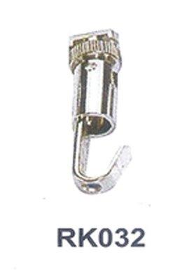 RK032 半圓可拆式鋼索吊勾(活動式)  標示牌 指標 輕鋼架 天花板 掛畫軌道 壁畫 吊具 掛勾 掛鉤 掛圖器