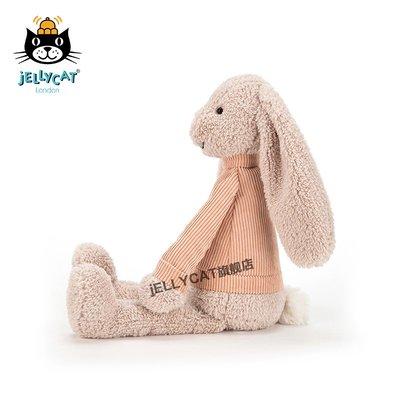 玩偶jellycat英國Jumble Bunny暖心小兔可愛米色邦尼兔毛絨玩偶