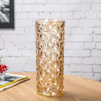 YEAHSHOP 花瓶歐式大號水晶玻璃花瓶客廳小清新擺件插花水培富貴竹干花落地花器295591Y185