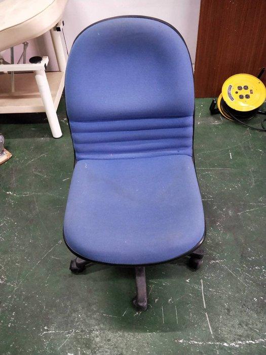 二手家具全省估價(大台北冠均 新五店)二手貨中心--藍色實用布面辦公椅 電腦椅 辦公椅 (有升降) OF-9080501