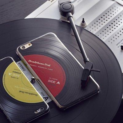 最新iPhone11防摔立體唱片紋路手...