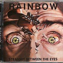 Rainbow - Straight Between The Eyes 99重混盤 二手美版