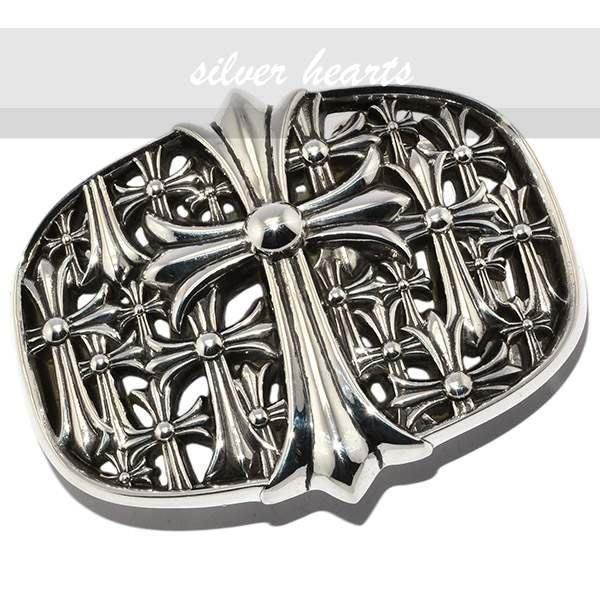 【SILVER HEARTS】Goro's Chrome Hearts 克羅心 1.5 Cemetery純銀皮帶扣 扣環