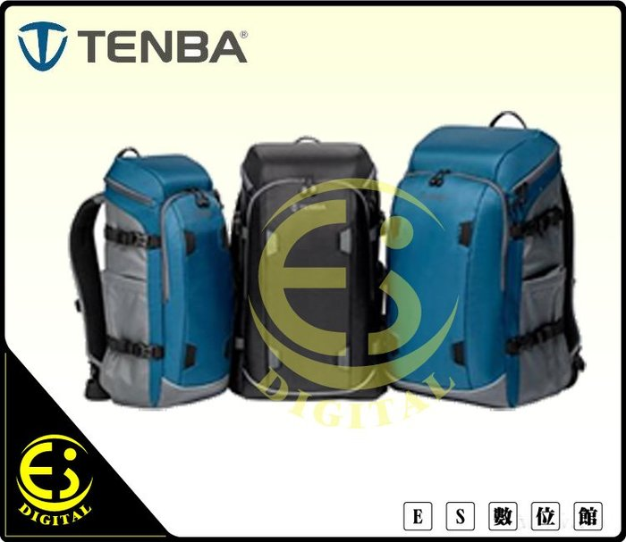 ES數位 Tenba Solstice Backpack 12L 極至後背包 相機包 攝影背包 相機黑色 636-411
