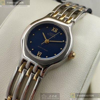 ANNE KLEIN安妮克萊恩女錶,編號AN00557,22mm銀錶殼,金銀相間錶帶款
