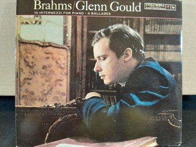 Gould,Brahms-10 Intermezzi,4 Ballades,顧爾德鋼琴,演繹布拉姆斯間奏曲,敘事曲等,如新。