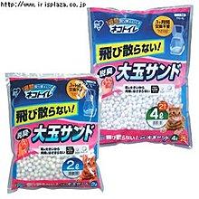 ☆米可多寵物精品☆日本IRIS大玉脫臭貓砂TIO-4L球砂TIO-530FT專用貓砂6包價