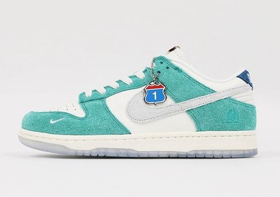 【S.M.P】Kasina x Nike Dunk Low Road Sign 渦輪綠 CZ6501-101