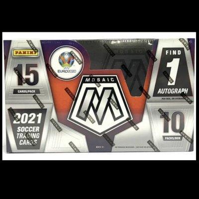 現貨 2020-21 Panini UEFA Euro Mosaic 歐洲國家盃 足球卡 馬賽克系列 盒卡
