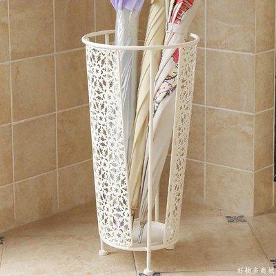 好物多商城 家用鐵藝雨傘架子雨傘桶酒店大堂雨具收納架創意落地雨傘筒