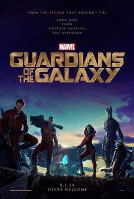 星際異攻隊(Guardians of the Galaxy)- 美國原版雙面電影海報(2014年預告版)