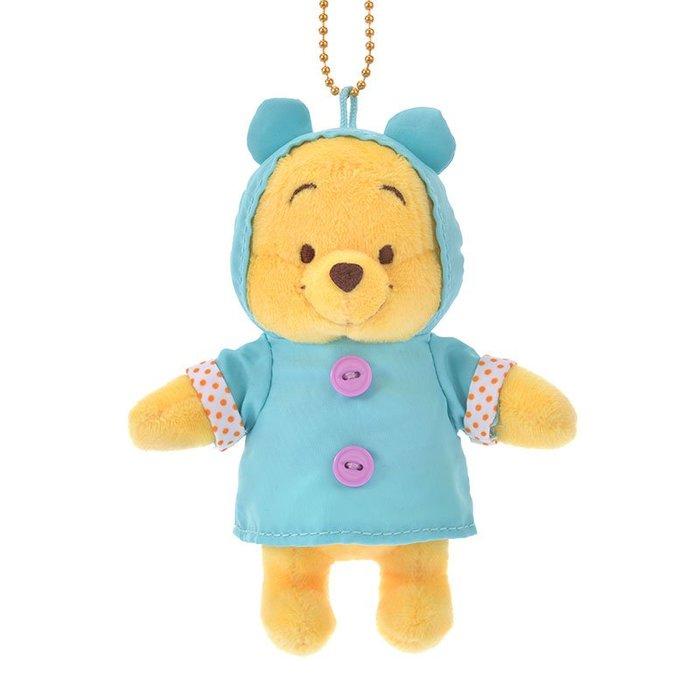 《FOS》日本 迪士尼 可愛 維尼 雨季 吊飾 玩偶 娃娃 Disney 史迪奇 奇奇 可愛 療癒 玩具 2020新款