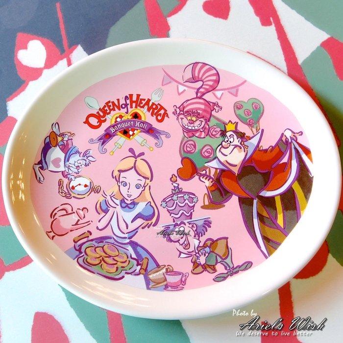 Ariel's Wish-日本東京迪士尼愛麗斯Alice愛麗絲妙妙貓時鐘兔子瓷器點心盤蛋糕盤水果盤餐盤下午茶餐盤子-現貨