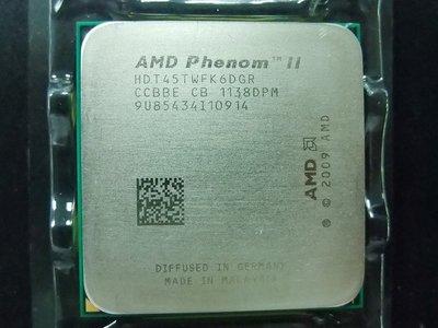 【含稅】AMD Phenom II X6 1045T 2.7G HDT45TWFK6DGR 六核 正式 散片CPU一年保